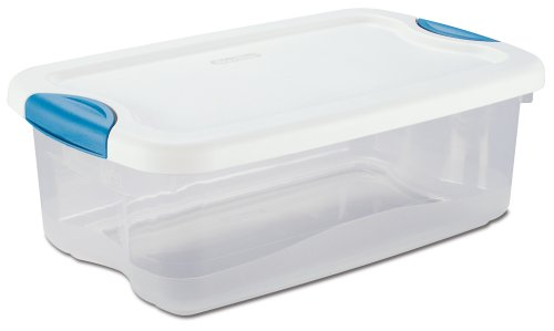 Rubbermaid Clever Store Latching Storage Tote Container