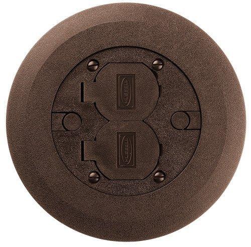 Hubbell Raco 6244 Nonmetallic Round Floor Box Adapter Ring Foxonroof