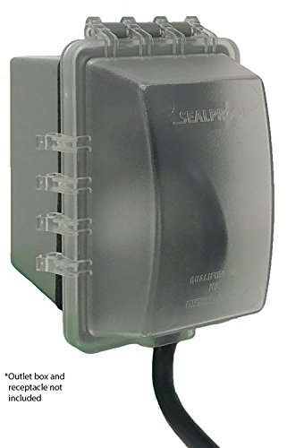 Made In Usa Weatherproof Electrical Outlet Box Extension Gray