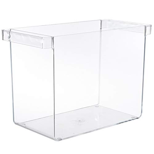 ... Stand Nail Polish Salon Cosmetic Source 5 Tier Clear Acrylic Display. Source · Clear Plastic Hanging File Organizer with Handles